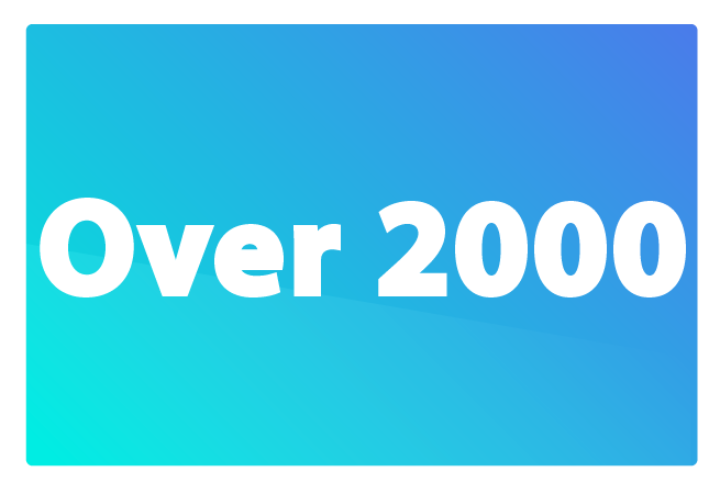 Over 2000